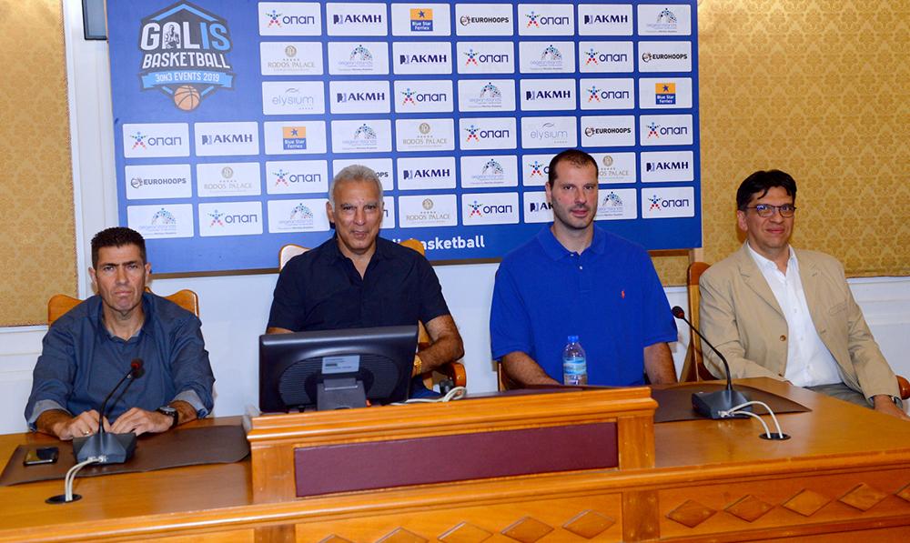 Η Συνέντευξη Τύπου του Galis Basketball 3on3 (video)