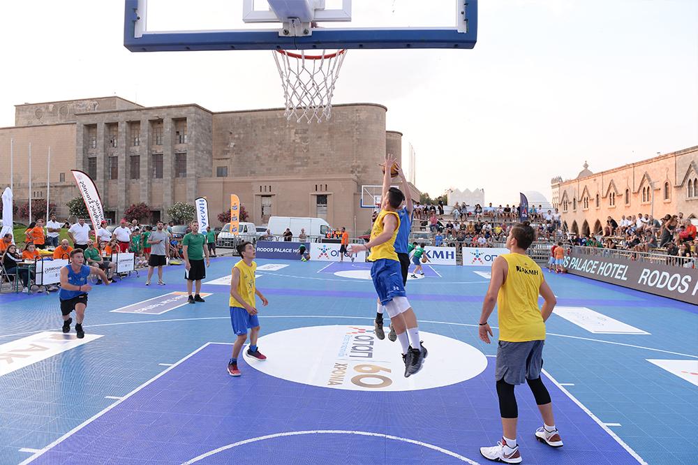 GalisBasketball 3on3: Τα αποτελέσματα των αγώνων της Παρασκευής (21/6)