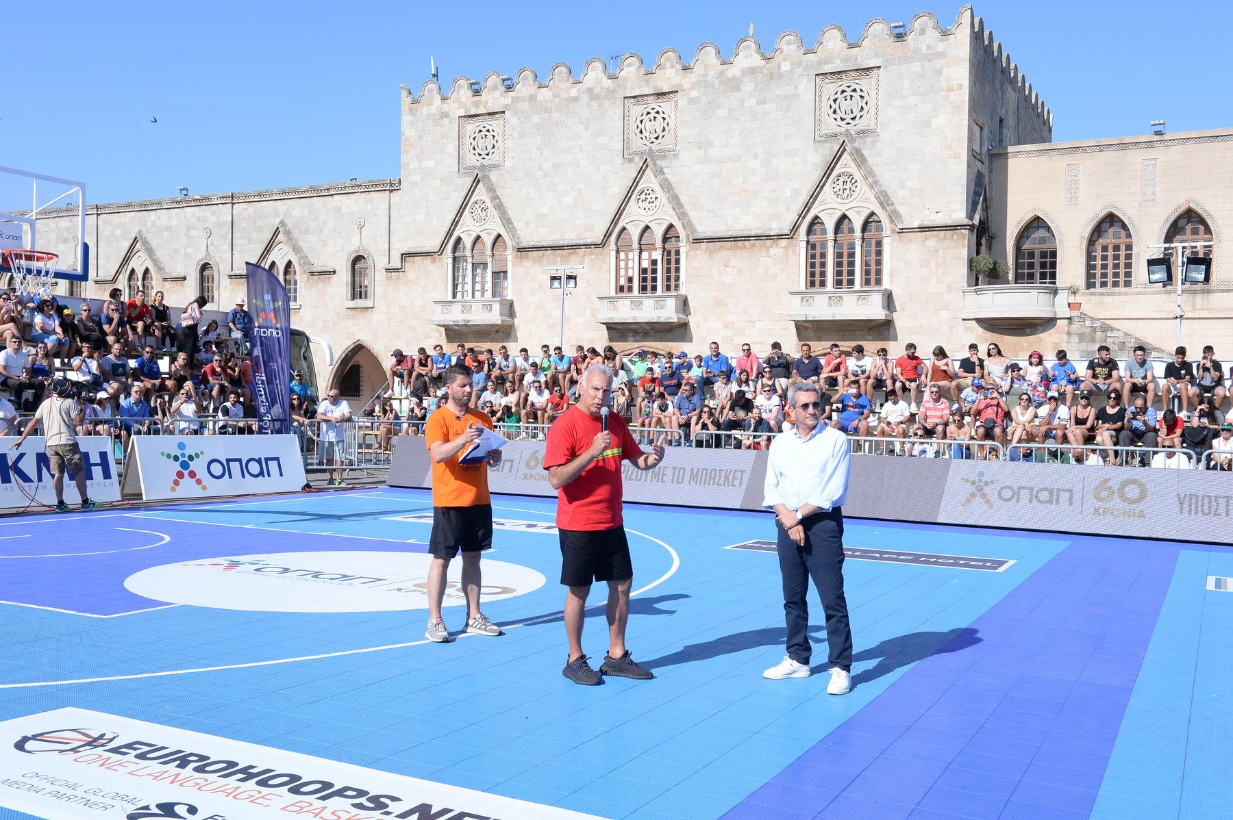 GalisBasketball 3on3: Καθολική αναγνώριση στον Νίκο Γκάλη! (photos)