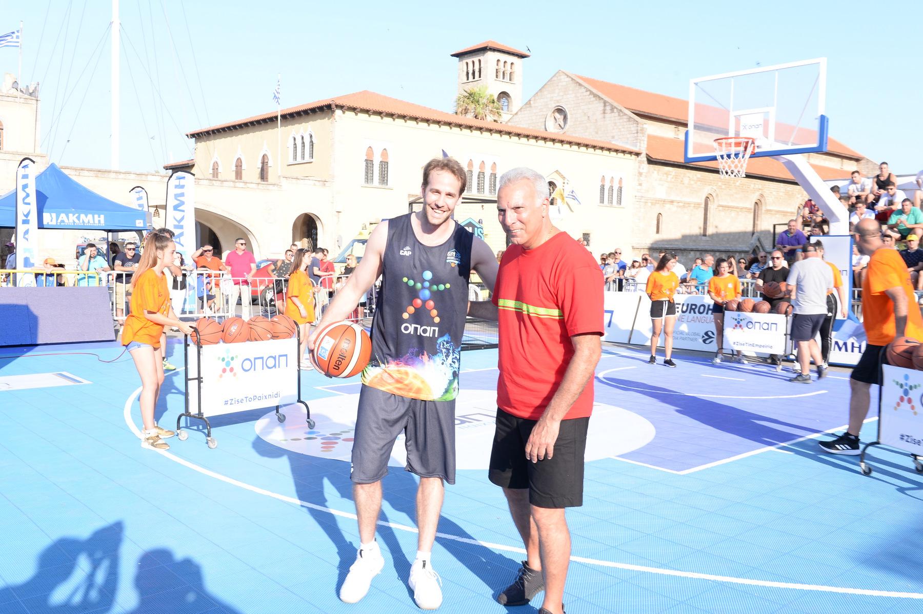 GalisBasketball 3on3: Δείτε τον Δημήτρη Βεργίνη να θριαμβεύει στο ΟΠΑΠ Skills Challenge! (video)