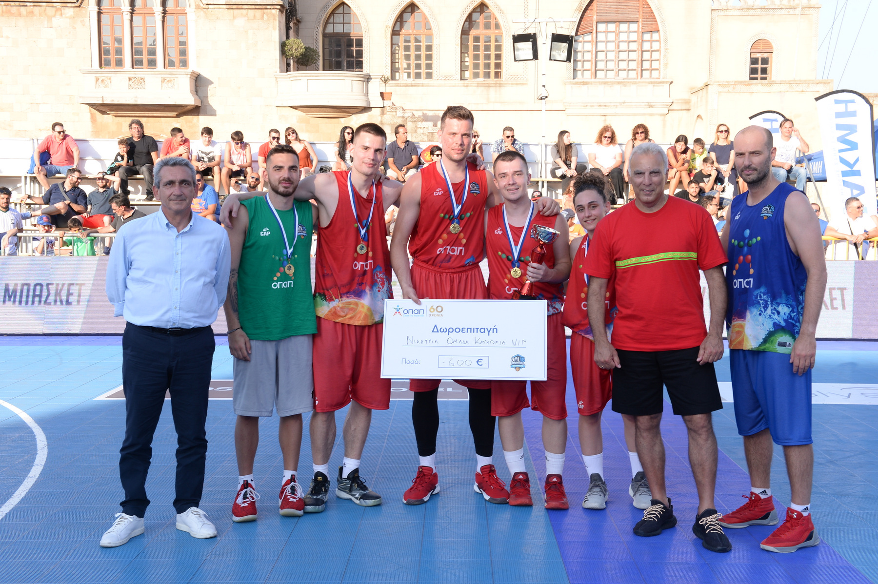Τα αδέρφια Αγραβάνη σήκωσαν την κούπα με την ομάδα «Rodos Palace» στον τελικό των VIP! (photos)