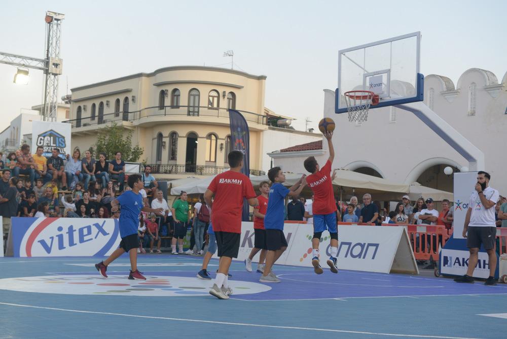 GalisBasketball 3on3: Τα αποτελέσματα της Πέμπτης 19/09