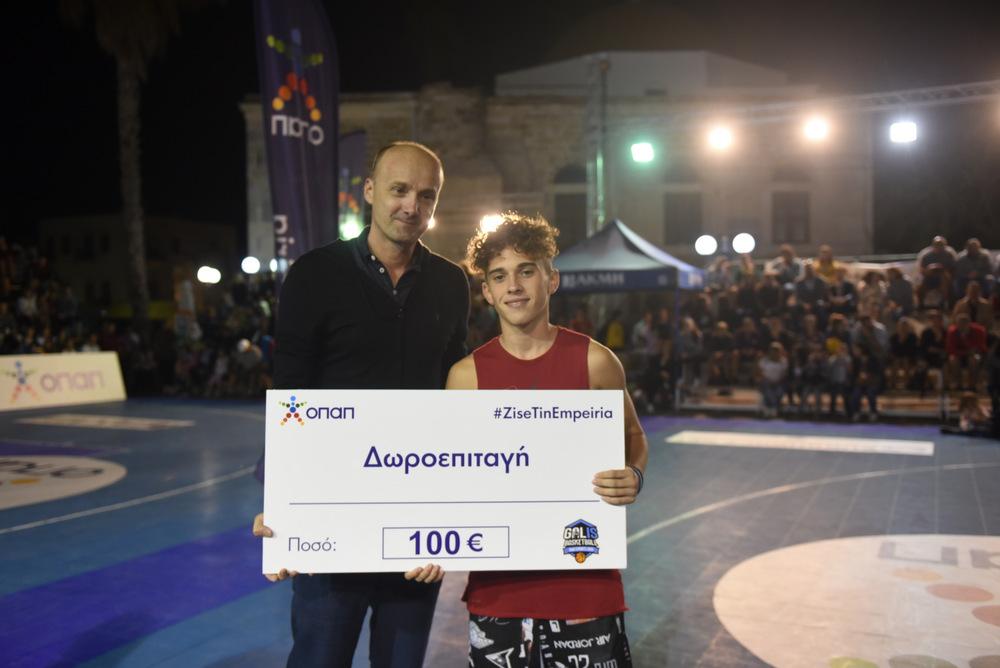Ο νέος είναι ωραίος! Ο Φυλτζανίδης κέρδισε τους VIP και θριάμβευσε στο ΟΠΑΠ Skills Contest! (video+pics)